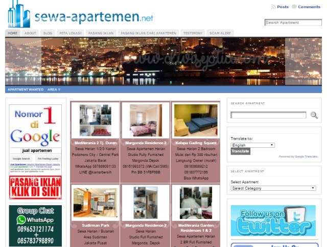 http://www.sewa-apartemen.net/