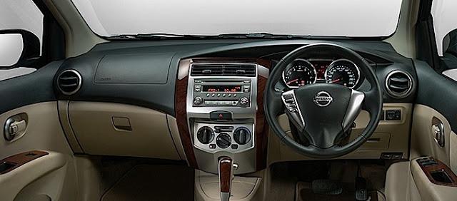 Dasbor Nissan Grand Livina